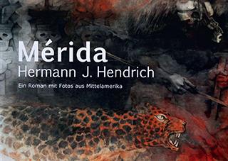 """Titelseite des Kunstbuchs """"Merida"""" von Hermann J. Hendrich"""