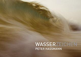 """Titelseite des Kunstbuchs """"Wasserzeichen"""" von Peter Hassmann"""