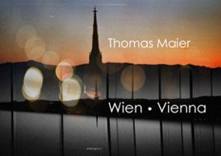 """Titelseite des Kunstbuchs """"Wien - Vienna"""" von Thomas Maier"""